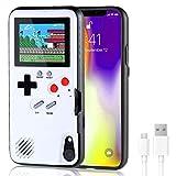 VKSG Gameboy Coque pour iPhone, étui de téléphone rétro 3D pour console de jeu avec 36 jeux...