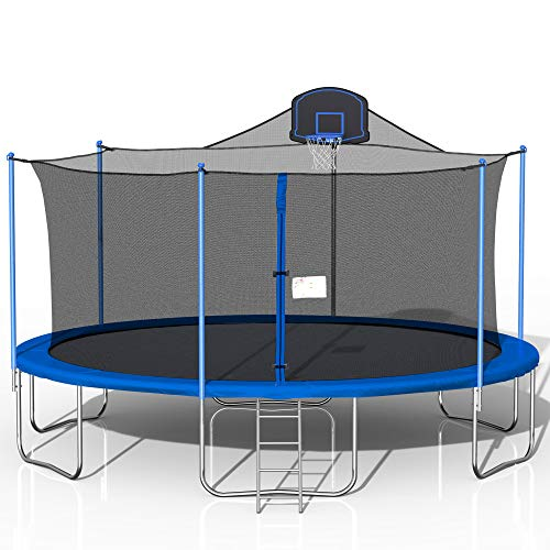 Awlstar 16FT Outdoor Trampoline for Kids and Adults with Safety...