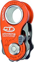 Climbing Technology Rollnlock Pulley Locking Lightweight, Red by Climbing Technology