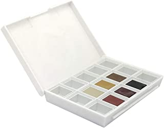 Daniel Smith Hand Poured Watercolor Half Pan Set of 6, with Bonus 9 Empty Half Pans, Earth Tones- Desert to Mountain (285650002)