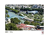 Tiflis 2021 - White Edition - Timokrates Kalender, Wandkalender, Bildkalender - DIN A3 (42 x 30 cm)