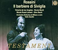 Rossini: Il Barbiere Di Siviglia (The Barber Of Seville) / de los Angeles by DE LOS ANGELES / MONTI / BECHI (1998-12-01)