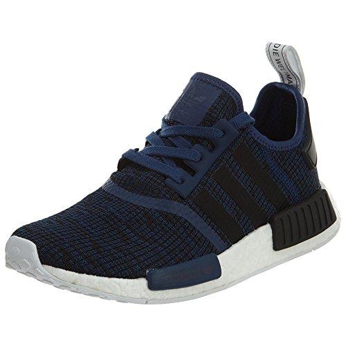 Adidas Zapatillas de correr Originals NMD XR1Primeknit para mujer, Azul (Mystery Blue/Core Black/Collegiate Navy), 12 D(M) US