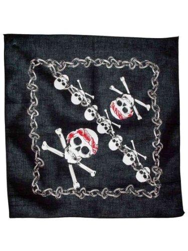 armardi a Bandana Skull Noir et Blanc