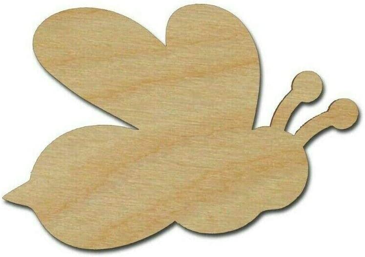 Nippon regular agency Bumble Bee Shape trust Unfinished Wood Cutouts Variety S Crafts DIY of