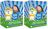 Moo Free Dairy Free Original Organic Easter Egg with Choccy Drops (Pack of 2)