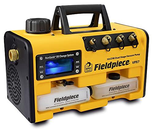 Fieldpiece VPX7 - Dual Stage, 10 CFM Vacuum Pump