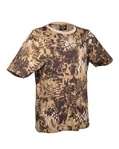 Mil-Tec US Army T-Shirt Camouflage léger (Mandra Tan/3XL)
