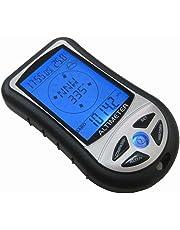 【ぴぴっと】 多機能 デジタル高度計 気圧計 温度計 コンパス 天気 日時 日本語説明書付き