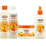 Cantu Care for Kids Shampoo + Conditioner + Leave-in Conditioner + Detangler'Set'