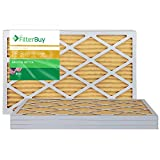 FilterBuy FB Gold Pleated AC Furnace Air Filter