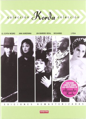 Korda Collection 4: 5-DVD Set ( The Spy in Black / Anna Karenina / An Ideal Husband / Sanders of the River / Lydia ) [ Spanische Import ]