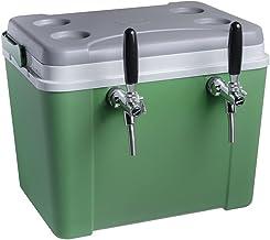 Chopeira a Gelo Lavita caixa 34l - verde com serpentina em alumínio torneira italiana 2 vias