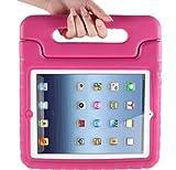 MYCARRYINGCASEキッズArmorBoxキックスタンドカバーケース (iPad2 新しいiPad3 iPad 4 Retinaディスプレイ, Pink ピンク色)