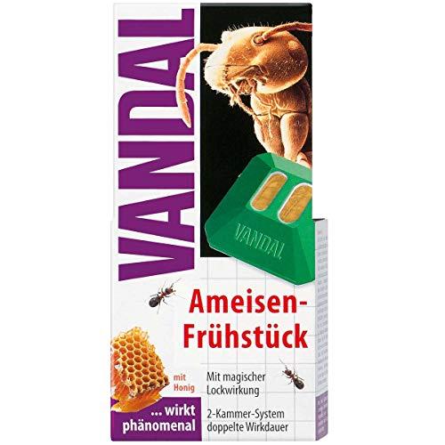 VANDAL Ameisen-Frühstück - Ameisenfalle & Ameisenköder mit Honig