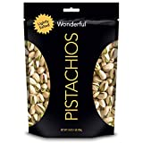 Wonderful Pistachios, Roasted & Lightly Salted, 16 Oz Resealable Bag...