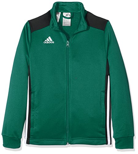 adidas Regi18 Pes Jkty Giacca Sportiva., Unisex bambini, Bold Green/Black., 910Y