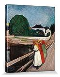 1art1 Edvard Munch - DREI Mädchen Auf Der Brücke, 1901