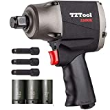 TZTOOL All New 2200K 1/2' impact wrench [ Metal housing ]