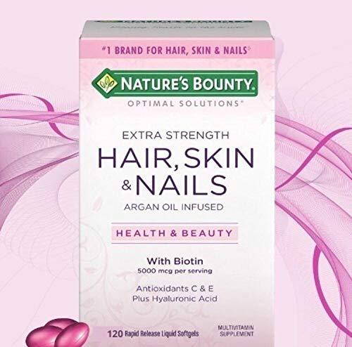 Hair, Skin & Nails Cabelo Pele Unhas 150cps Nature's Bounty