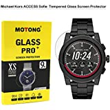 MOTONG Michael Kors Access Women's Sofie Screen Protector - MOTONG Tempered Glass Screen Protectors for Michael Kors Access Women's 'Sofie Watch,9 H Hardness,0.3mm Thickness,Made from Real Glass