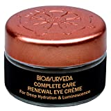 BIOAYURVEDA Eye Cream For Dark Circles and Puffiness, Eyelid Cream Helps To Reduce Crows Feet,...