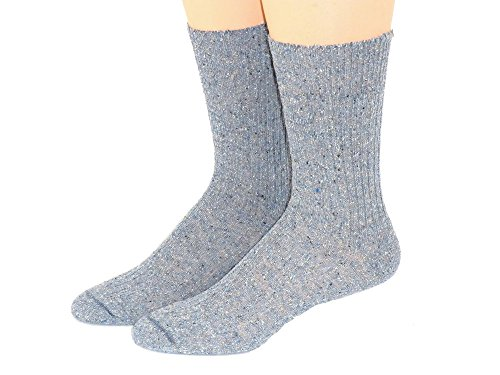 Shimasocks Herren Socken ohne Gummi Diabetiker geeignet, Größe:43/46, Farben alle:jeans