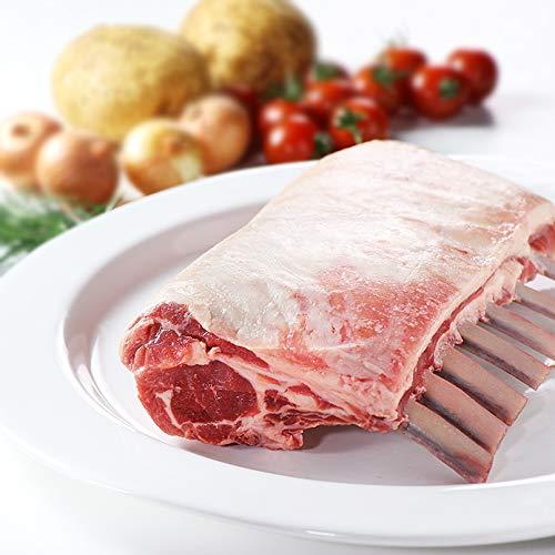 ミートガイラム肉ラムチョップブロック(1ラック+スパイスのセット)ニュージーランド産WAKANUIスプリングラムフレンチラムラックNewZealandFrenchedLambRack+LambRubSpice
