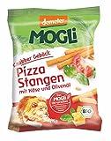 MOGLi Bio (demeter) Pizza Stangen 9er Pack, (9 x 75 g) -