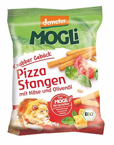 MOGLi Bio Demeter Pizza Stangen, 12er Vorrats-Pack (12x 75 g)