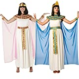 Womens Blue Cleopatra Costume Ancient Egypt...