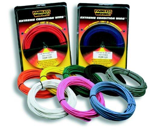 Painless 71864 18 Gauge Orange TXL Wire (25 ft.)