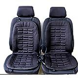 2pcs Car Seat Heating Pad Car Seat Heated Cushion Hot Cover Warmer Winter