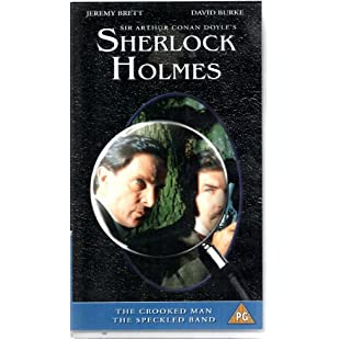 Adventures of Sherlock Holmes - Crooked Man/Speckled Band [VHS]