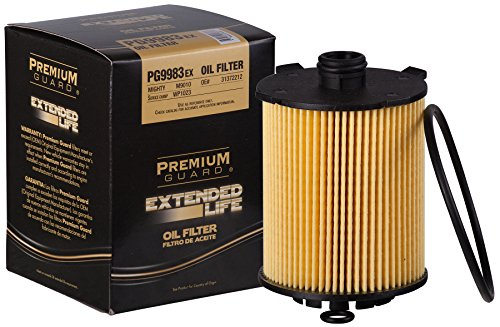 PG Oil Filter, Extended Life PG9983EX| Fits 2016-20 Volvo XC90, 2015-20 XC60, S60, 2019-20 XC40, 2017-20 S90, 2015-20 V60, 2017-20 V60 Cross Country