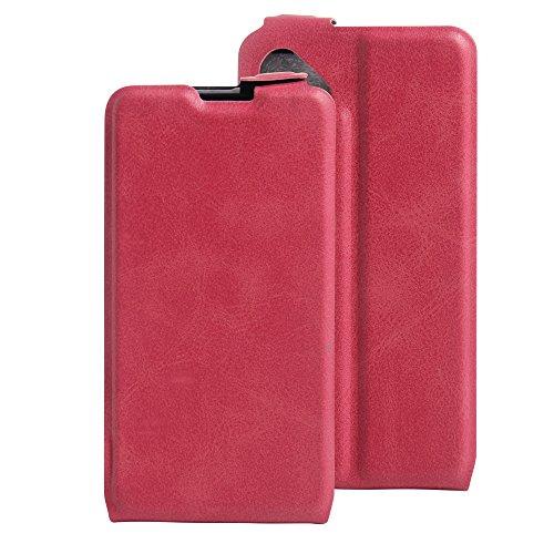 Litao-Case CN Hülle für wiko b Kool Sunny hülle Flip Leder + TPU Silikon Fixierh Schutzhülle Case 3