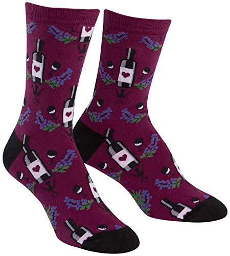 Sock It To Me Frauen-Crew Socken - Wein