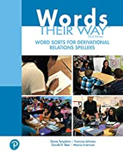 Words Their Way Word Sorts for Derivational Relations Spellers (2-downloads) (What's New in Literacy)