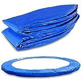Miganeo Terena® Federabdeckung 396-400 cm für Trampolin Randabdeckung beidseitig PVC - UV...