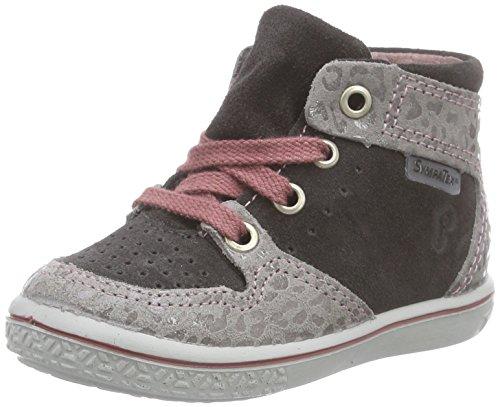 Ricosta Allanis, Mädchen Hohe Sneakers, Grau (antra/steel 656), 23 EU (6 Kinder UK)