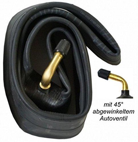 CBK-MS®, 2 camere d'aria da 12 1/2 x 2 1/4 = 62-203, con valvola angolare da 45°, adatte per auto, passeggino, triciclo, bici o rimorchio