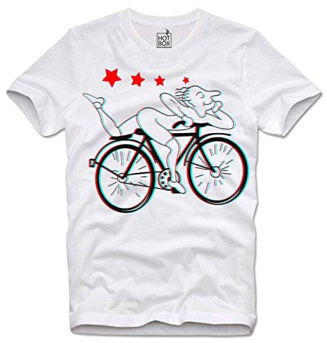 Hotbox T Shirt Albert Hofmann LSD Bike MDMA L