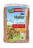 Avoine biologique 3 kg BIO 100% avoine nue d'Autriche, aliments crus avec germe, source de protéines, riche en fibres 6x500 g