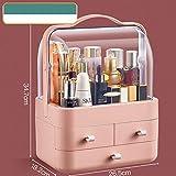 MYW Organizador Maquillaje,cosméticos Almacenamiento de Maquillaje Giratorio Mayor Capacidad Caja pa...