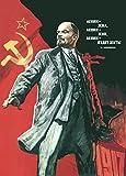 Vintage Russian Soviet Union Propaganda LENIN LIVED, LENIN
