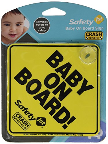 Safety 1st 'Baby On Board' Sign, 2 Count