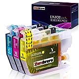 Zambrero LC3219XL Colore Cartucce Sostituzione per Brother LC3219 LC3217 Cartucce d'inchiostro, Compatibile per Brother MFC-J5330DW MFC-J5335DW MFC-J5730DW MFC-J6930DW MFC-J6530DW MFC-J6935DW J5930DW