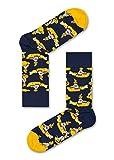 Happy Socks The Beatles Herren Geschenkset Mehrfarbig, Marine, 36-40