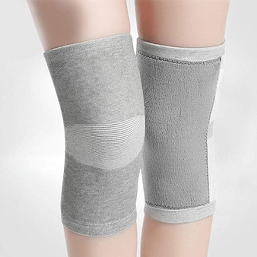アデレード電子ささいな合同のペンキの膝パッドの暖かい超薄い夏の滑り止めの冷たい膝セットは跡の男性および女性を身に着けていません (色 : グレイ ぐれい, サイズ さいず : Xl xl)