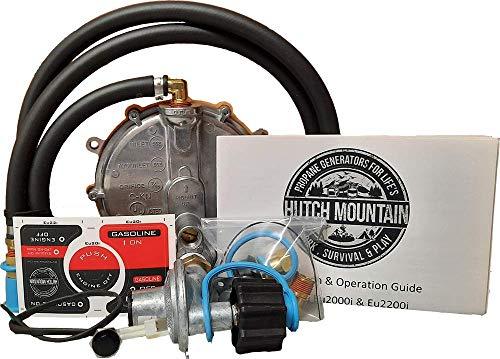 Hutch Mountain Compatible with Honda Eu2200i Propane - Gasoline Natural Gas Trifuel Generator Conversion Kit
